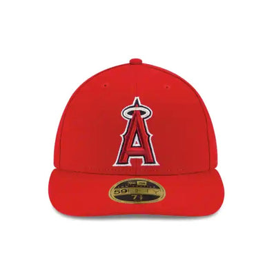 Anaheim Angels New Era Red Authentic Collection On-Field Game 59FIFTY Fitted Hat