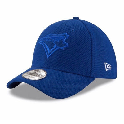 Toronto Blue Jays New Era Twist Logo - 39THIRTY Flex Hat