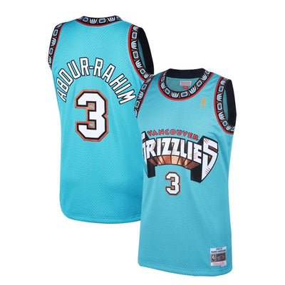 Shareef Abdur-Rahim Vancouver Grizzlies Mitchell & Ness 1996-97 Hardwood Classic Teal Swingman Jersey
