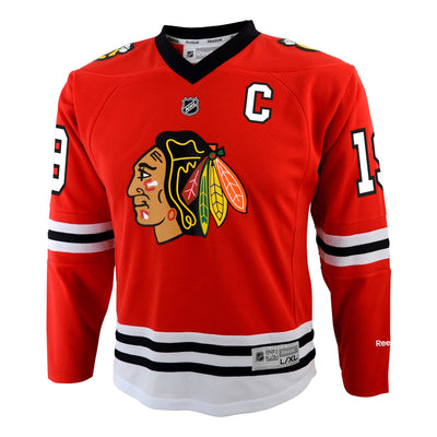 Youth Chicago Blackhawks Toews Youth Home Replica Jersey