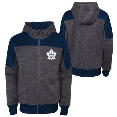 Youth Toronto Maple Leafs Full Zip Sleek Hoodie