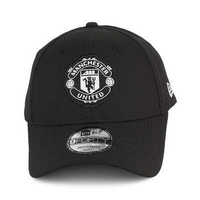 Manchester United Football Club Diamond Black 9Forty New Era Adjustable Hat