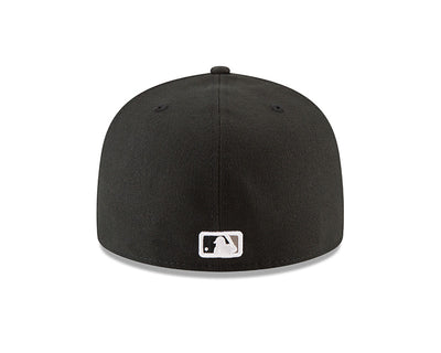 Chicago White Sox New Era Black Authentic Collection On-Field Home 59FIFTY Fitted Hat