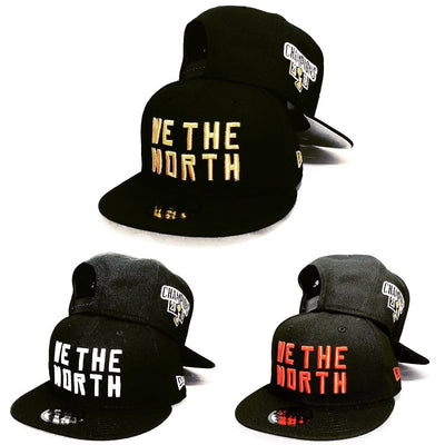 Toronto Raptors We The North Champions Patch NBA Black/Red 9FIFTY New Era Snapback Hat