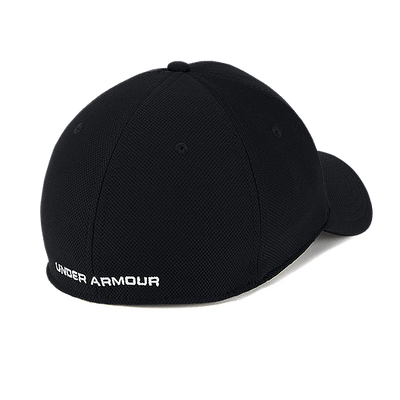 Under Armour Men's Blitzing 3.0 Stretch Fit Hat - Black White
