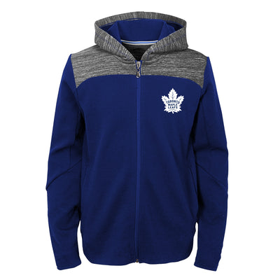 Youth Toronto Maple Leafs Full Zip Centridal Hoodie