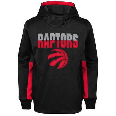 Youth Toronto Raptors Black/Red Perform Hoodie