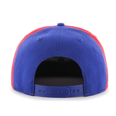 Montreal Expos Sure Shot Captain 47 Brand Snapback Hat