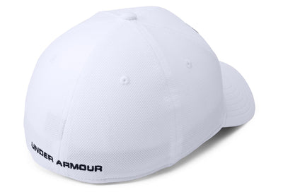Under Armour Men's Blitzing 3.0 Stretch Fit Hat - White