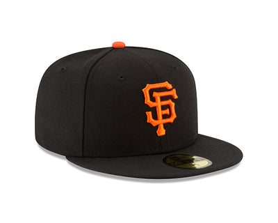 San Francisco Giants New Era Black Authentic Collection On-Field Game 59FIFTY Fitted Hat