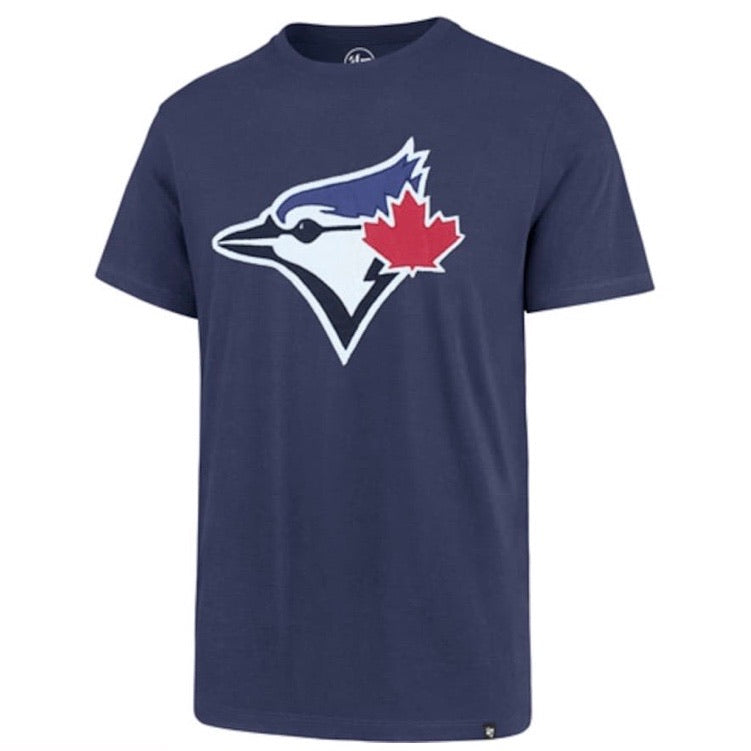 Toronto Blue Jays 47 Brand Knockout Fieldhouse Blue Cooperstown Collection T-Shirt