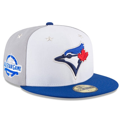 Toronto Blue Jays Authentic Collection All Star Game 2018 With Patch New Era 59FIFTY Fitted Hat