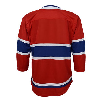 Child Montreal Canadiens Home Replica Lace Up Jersey