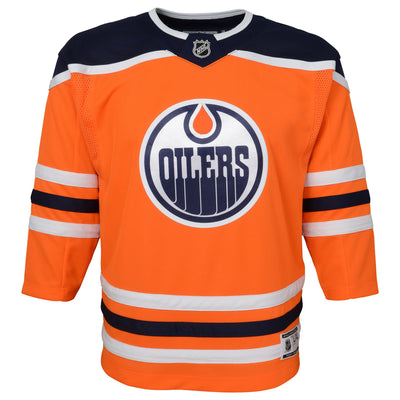 Youth Edmonton Oilers Home Replica Jersey