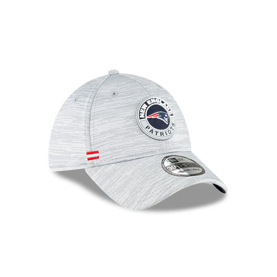 New England Patriots Official NFL 2020 Fall Sideline 39Thirty Stretch Fit Hat