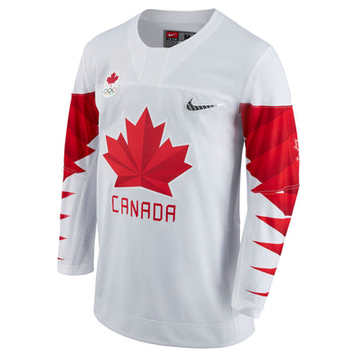 Team Canada Official 2018 Nike Olympic Replica White