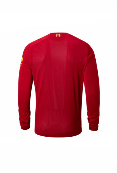 Liverpool FC Long Sleeve New Balance 19-20 Home Jersey