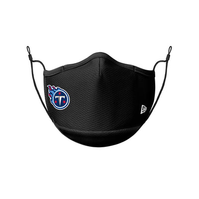 Tennessee Titans New Era Black On-Field Face Cover Mask