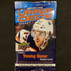 2020-21 Upper Deck Young Guns Series 1 Hockey Retail Pack - 1 Pack / 8 Cards