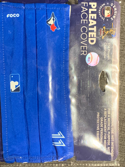 Bo Bichette #11 Toronto Blue Jays On-Field Game Day Face Cover