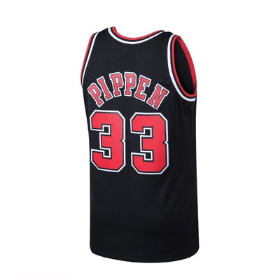 Scottie Pippen Chicago Bulls Mitchell & Ness 1997-98 Hardwood Classic Swingman Black Jersey