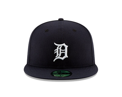 Detroit Tigers New Era Navy/White Authentic Collection On-Field Home 59FIFTY Fitted Hat