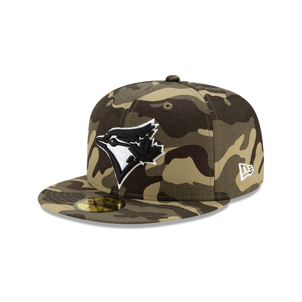 Toronto Blue Jays Camo Memorial Day 2021 On-Field New Era 59FIFTY Fitted Hat