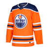 Edmonton Oilers Adidas Home Authentic Jersey