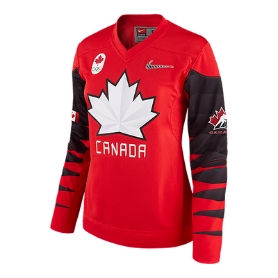 Women's Team Canada Official 2018 Nike Olympic Replica Red