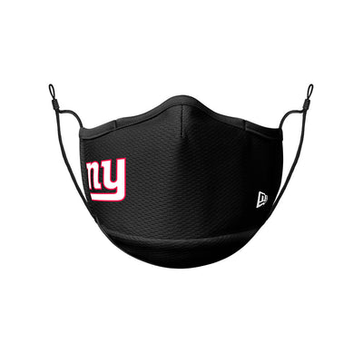 New York Giants New Era Black On-Field Face Cover Mask