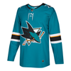 San Jose Sharks Adidas Home Authentic Jersey