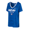 Women's Toronto Blue Jays Nike Dri-Fit Authentic Collection Team Issue Velocity Royal T-Shirt