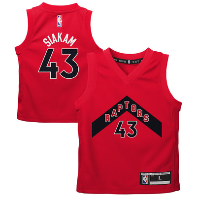Child Toronto Raptors 2020-21 Pascal Siakam Red - Fast Break Player Jersey – Icon Edition