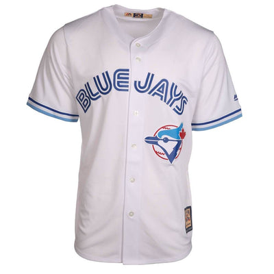 Toronto Blue Jays Majestic Cooperstown Collection Cool Base White Replica Jersey