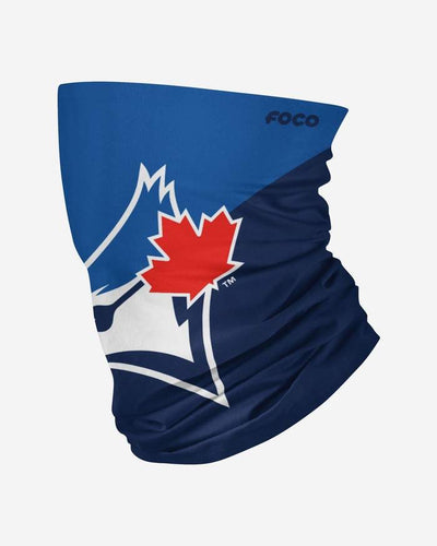 Toronto Blue Jays Big Logo FOCO MLB Face Mask Gaiter Scarf