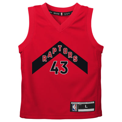 Toddler Toronto Raptors 2020-21 Pascal Siakam Red - Fast Break Player Jersey – Icon Edition