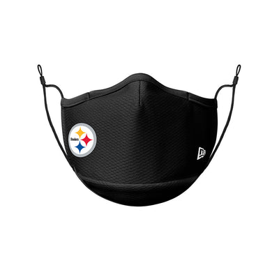 Pittsburgh Steelers New Era Black On-Field Face Cover Mask