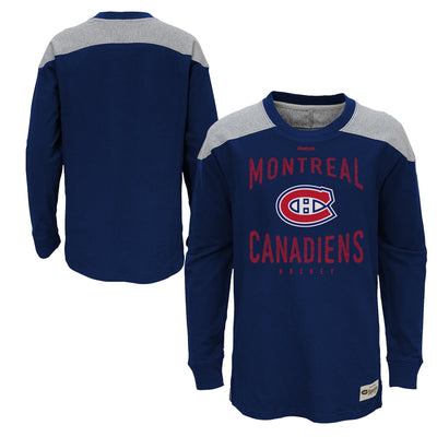 Youth Montreal Canadiens Long Sleeve Brit Shirt