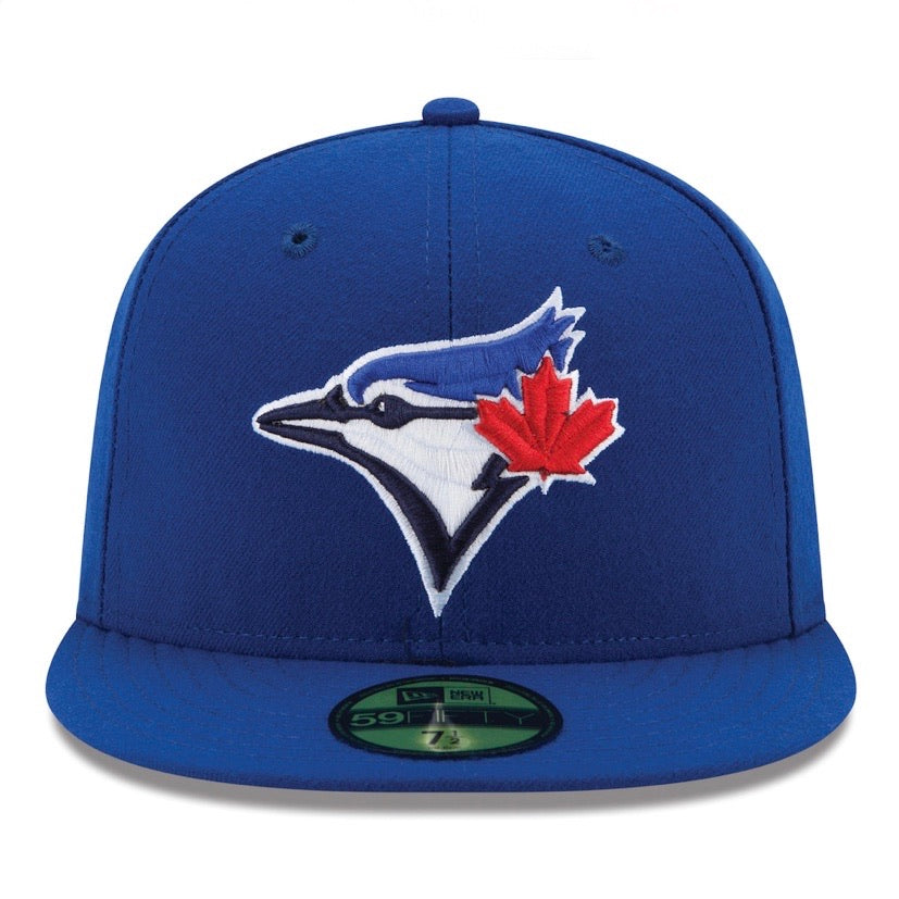 Toronto Blue Jays Official On-Field Game Authentic Collection New Era 59FIFTY Fitted Hat