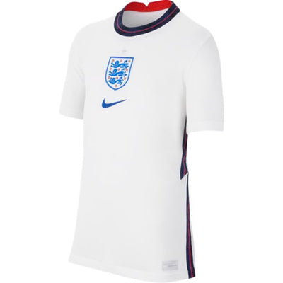Youth England 2020 Stadium Home White Euro Nike Jersey
