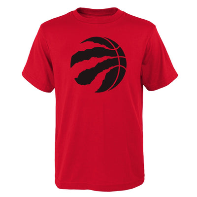 Youth Toronto Raptors Red Icon Logo T-Shirt