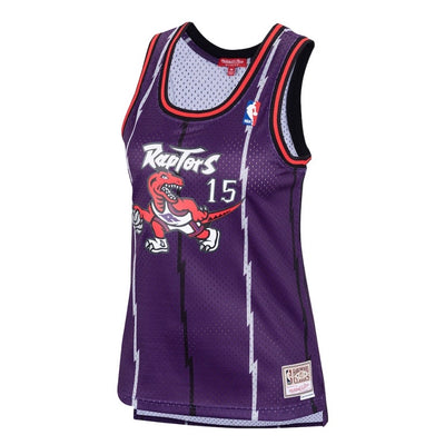 Women's Vince Carter Toronto Raptors 1998-99 Purple Mitchell & Ness Hardwood Classic Swingman Jersey