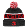 Youth Toronto Raptors Black Tadpole Knit Pom Toque