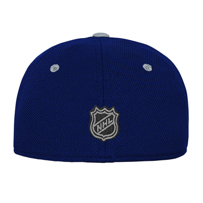 Youth Toronto Maple Leafs Second Season Grey/Blue Stretch Fit Hat