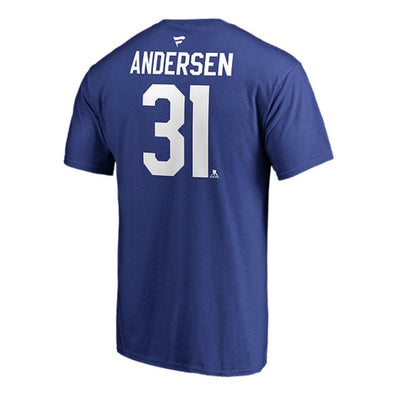 Toronto Maple Leafs Frederik Andersen #31 Fanatics Name and Number T-Shirt