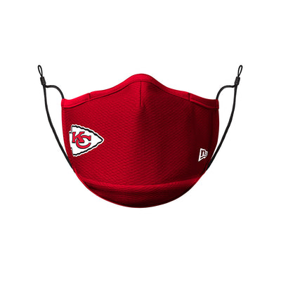 Kansas City Chiefs New Era Team Colour On-Field Face Cover Mask