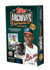 Topps Archives Signature Series 2020 Retired Player Edition Baseball Box