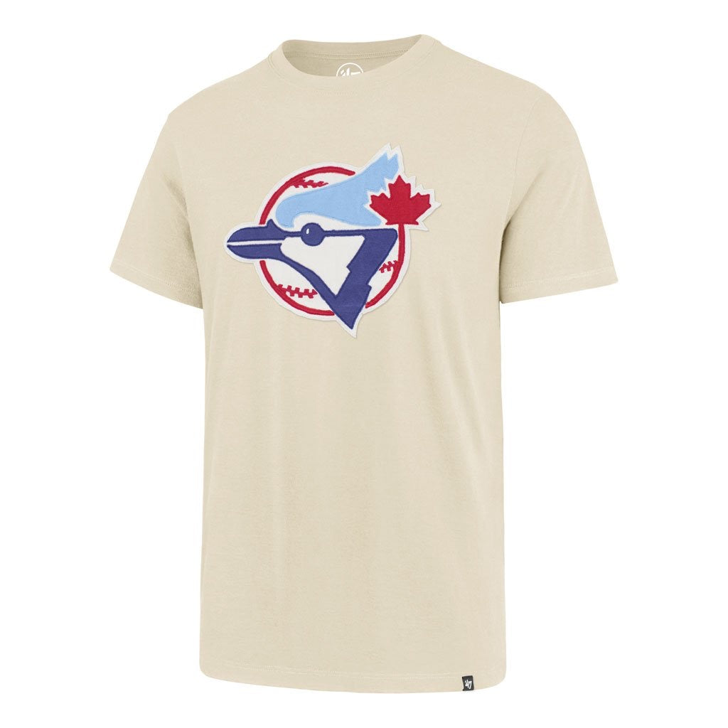Toronto Blue Jays 47 Brand Knockout Dune Fieldhouse Cooperstown Collection T-Shirt