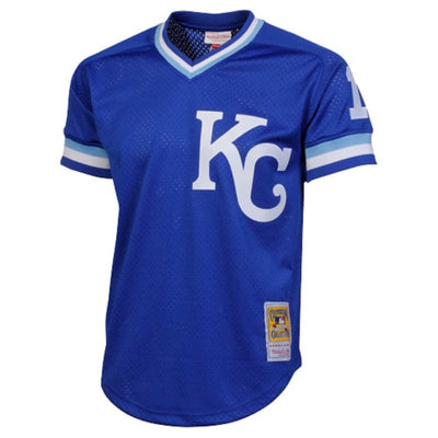 Bo Jackson Kansas City Royals Mitchell & Ness 1998 Authentic Cooperstown Collection Blue Batting Practice Jersey