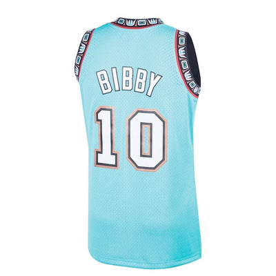 Mike Bibby Vancouver Grizzlies Mitchell & Ness 1998-99 Hardwood Classic Teal Swingman Jersey